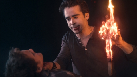 Colin Farrell provides a fairly menacing turn as a Jerry the vampire.  (photo courtesy of mctcampus.com)