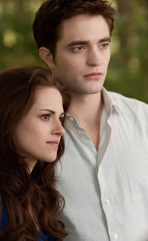 "Kristen Stewart and Robert Pattiinson  star in the ""Breaking Dawn"" from Summit Entertainment 
