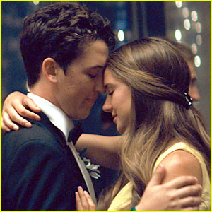 "Movie still of Shailene Woodley and Miles Teller in the adaptations of Tim Tharp's book ""The Spectacular Now.""  Photo courtesy of theplaylist.com"
