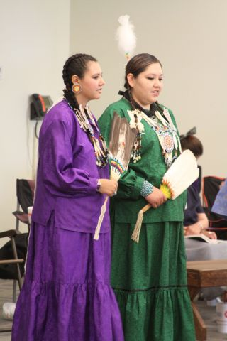 Native American dancers travel from across the state to participate in the popular event.  Photo by D.J. Gosnell