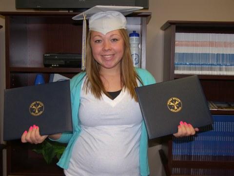 Double major graduate