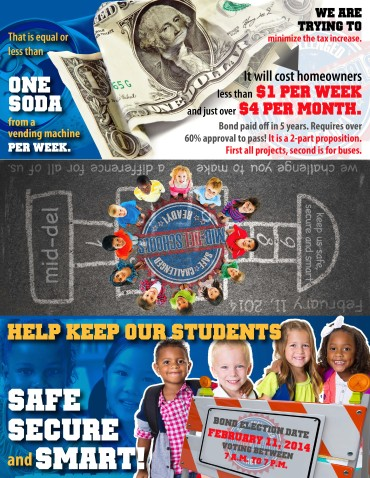 Bond Election Flyer for Mid-Del Public Schools