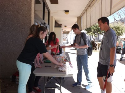 The BCM accepts donations for backed foods including cookies and muffins.