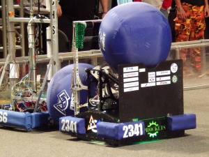 The Sprocket's robot won the Engineering Inspiration Award; the team will next compete at the world competition April 23-26 in St. Louis.