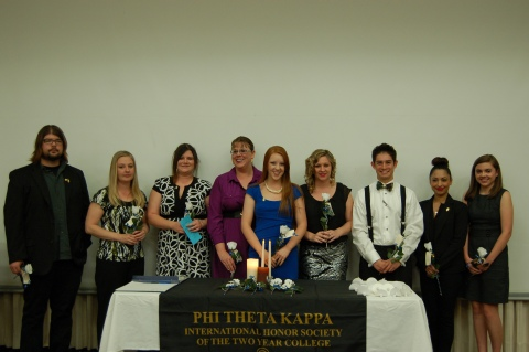 PTK New Inductees