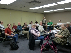 The Mid-Oklahoma Writers group meets in LRC Room 101 the second Tuesday of each month from September through June and encourages all community members interested in writing to attend.