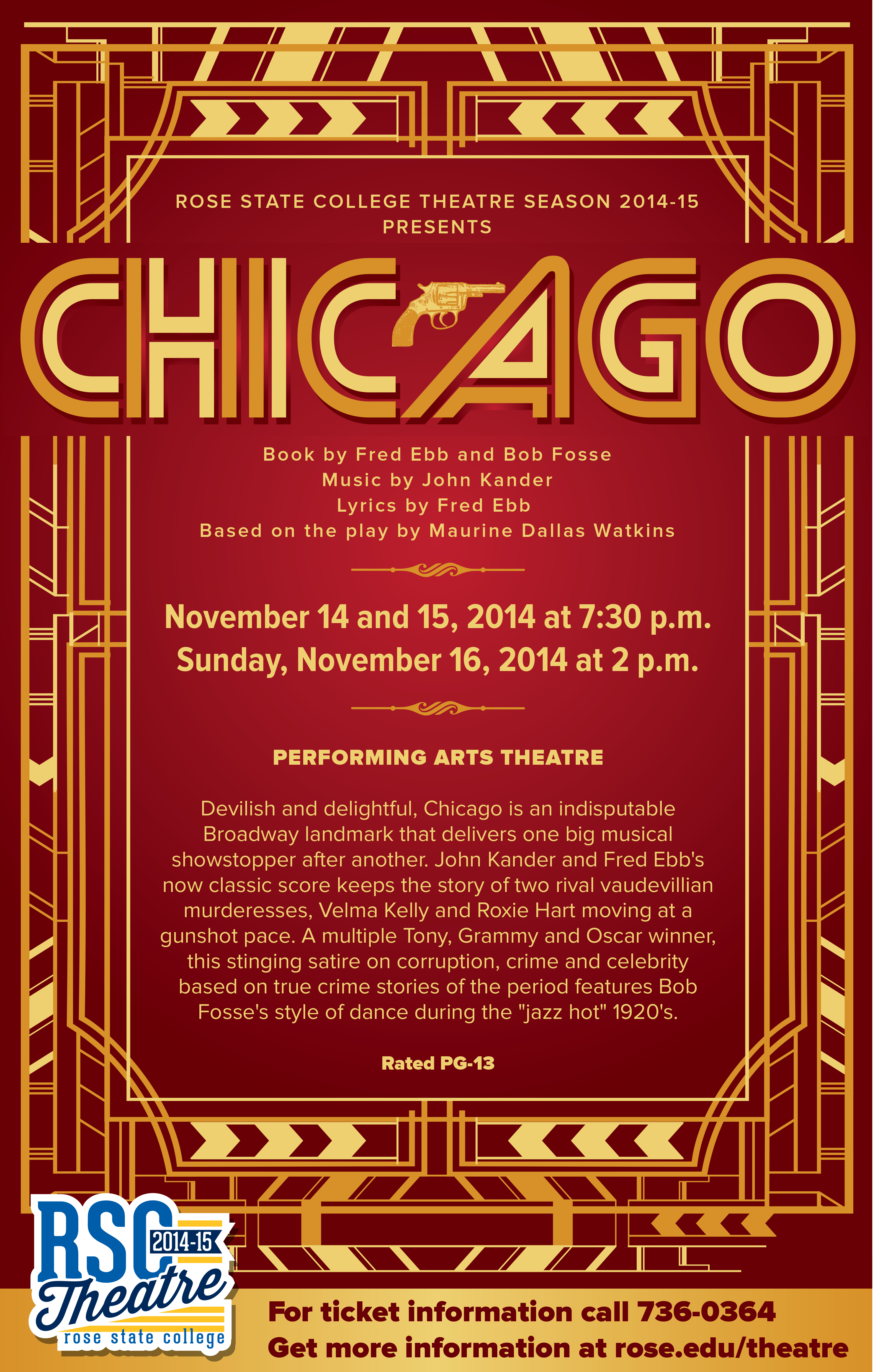 Casting call! Chicago auditions begin soon – 15th Street News