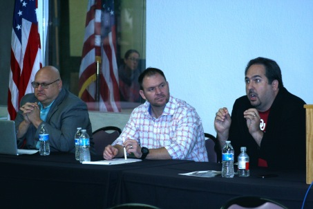 Campaign panel at Rose State