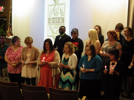 PTK Induction 2014